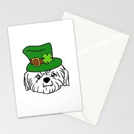 Leprechaun Shih Tzu - St. Patricks Day Stationery Cards
