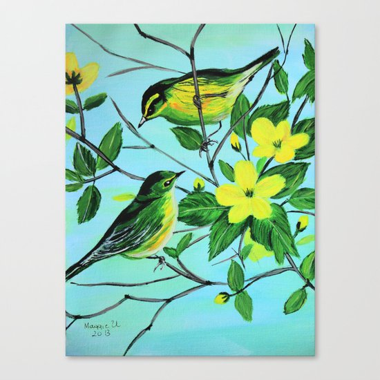 Thinking of spring  Canvas Print