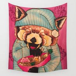 Takayuki & His Midnight Snack Wall Tapestry