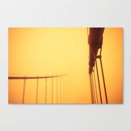 Golden - Golden Gate Bridge Canvas Print