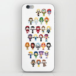 WOMEN WITH 'M' POWER iPhone Skin