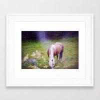 fairytale Framed Art Prints featuring Fairytale by Maja Malmcrona Wrangstadh