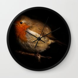 Robin Portrait Wall Clock