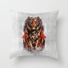 Tiger  Tiger  Tiger Throw Pillow