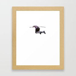 can't. even. Framed Art Print
