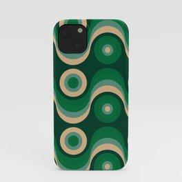 70s Optical Wallpaper iPhone Case
