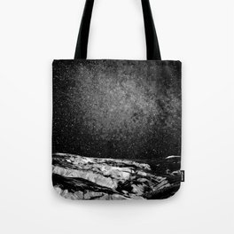 interstellar journey landscape (human) Tote Bag