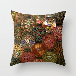 Balls 2, 3150v Throw Pillow