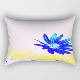 Hey Blu Rectangular Pillow