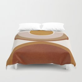 Modern Geometry Duvet Cover