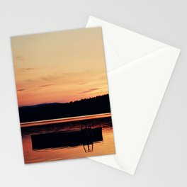 Dock at Dawn Stationery Cards