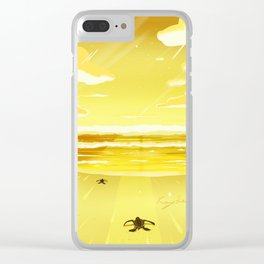 Life Begins Clear iPhone Case