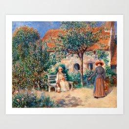 Pierre-Auguste Renoir - In Brittany Art Print
