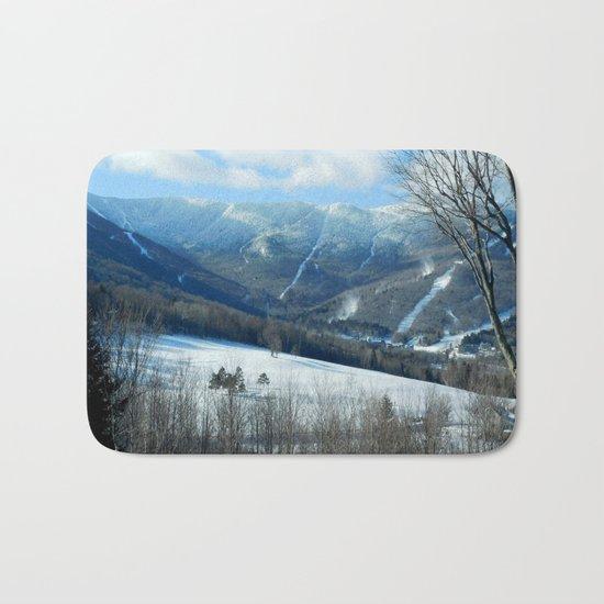 Ski Trails at Sugarbush Resort, Vermont Bath Mat