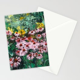 Coneflowers  Garden Stationery Cards