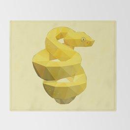 Viper Snake. Throw Blanket