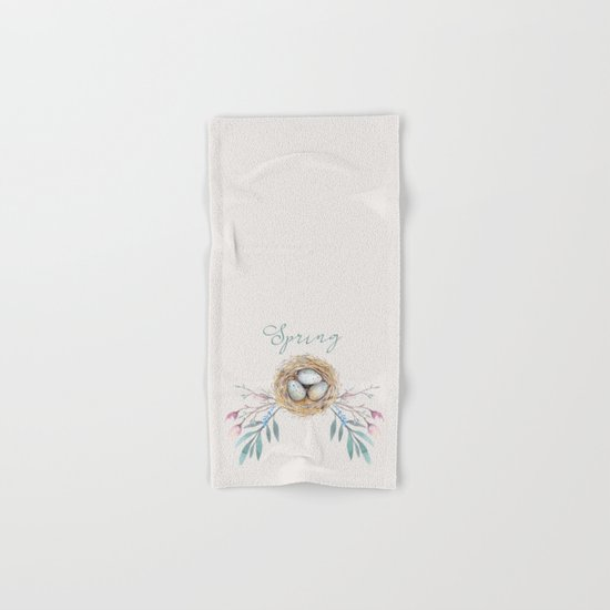 spring nest Hand & Bath Towel