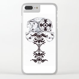 Under-dressed Clear iPhone Case
