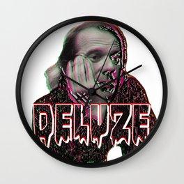Gilles Deleuze Wall Clock