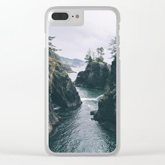 Samuel H. Boardman Clear iPhone Case