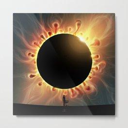 SolarCorona Metal Print