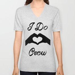 I Do Crew Unisex V-Neck