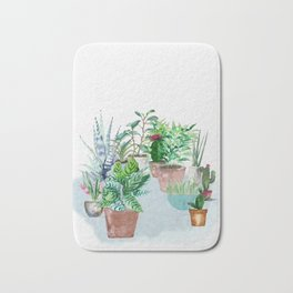 Plants 2 Bath Mat