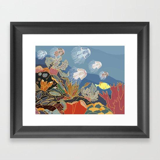 Cizé Framed Art Print