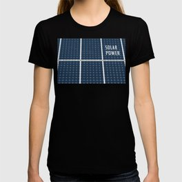Solar Cell Panel T-shirt