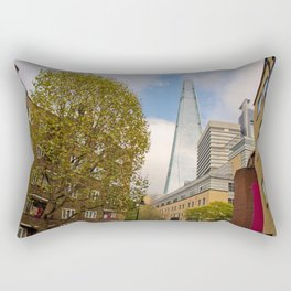 The Shard London Bridge Tower Southwark UK Rectangular Pillow