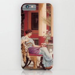 The Jewel Box by John William Godward iPhone Case