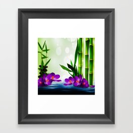 Bamboo 3 Framed Art Print