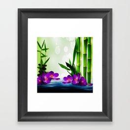 Bamboo 3 Framed Art Print