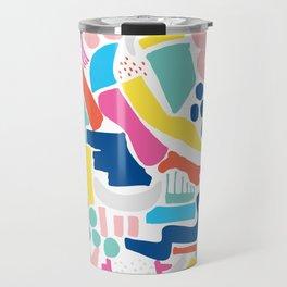 Colour Scatter Travel Mug