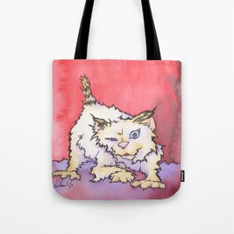 Scream the Cat Tote Bag