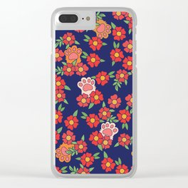 Toe Beans Clear iPhone Case