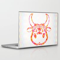 bull Laptop & iPad Skins featuring Bull by Gusvili