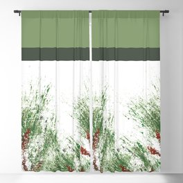 Colorblock Loblolly Pine 2 Blackout Curtain