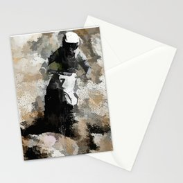 Down and Dirty! - Motocross Racer Stationery Cards