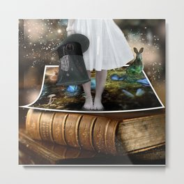 Alice out of Wonderland Metal Print