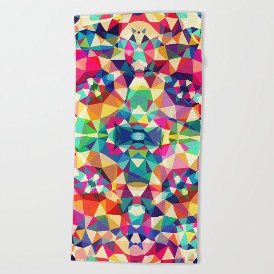 Colour Of Joy Beach Towel