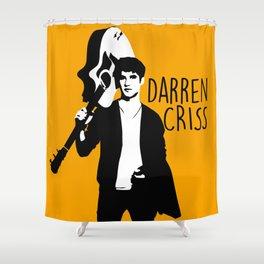 Darren Criss with guitar! Shower Curtain