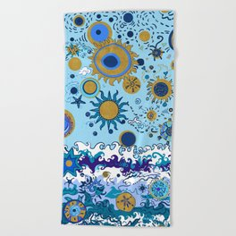 Sun & Sea Beach Towel
