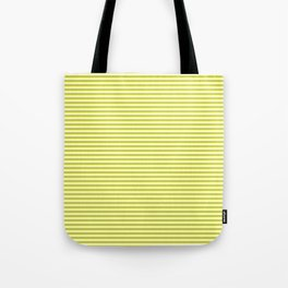 Classic Stripes ((chartreuse)) Tote Bag