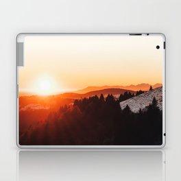 Mountain sunset Laptop & iPad Skin