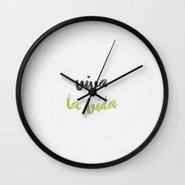 Viva la vida! Wall Clock