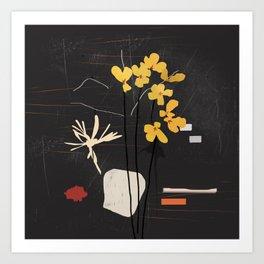 abstract minimal 54 Art Print