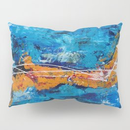 Marlin in the ocean Pillow Sham