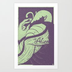 The Alien Art Print