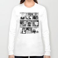 hamlet Long Sleeve T-shirts featuring Hamlet Ramlet by Tim Malstead